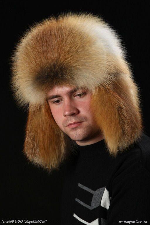Сшить мужскую шапку из меха